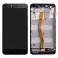 Lenovo Vibe K6 Note Lcd Ekran Dokunmatik Touch Çıtalı