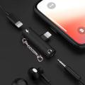 İPhone 3.5mm Kulaklık Ve Şarj Dönüştürücü Başlık Adaptör