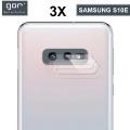 Gor Sm Galaxy S10e Nano Kamera Koruyucu 3 Adet Set