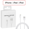İPHONE 5,6,7,8 ,X,XS,XR LIGHTING 1METRE USB ŞARJ KABLOSU