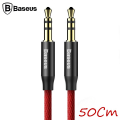Baseus Yiven M30 3.5mm Aux Kablo 0.50cm Kısa Halat Aux Kablo