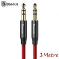 Baseus Yiven M30 3.5mm Aux Kablo 1metre Halat Aux Kablo