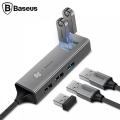 BASEUS CUBE HUB 5İN1 USB 3.0- USB 2.0 ÇOKLAYICI ADEPTÖR CAHUB-C0G