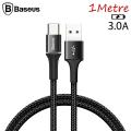 Baseus halo USB Type-C 3.0A Hızlı Şarj 1Metre USB Şarj Kablosu