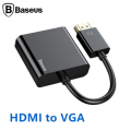 BASEUS Convert HD4K to VGA HD Çıkışlı Çevirici Adeptör