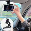 PE-Z01 360 Derece Dönen Araba Güneşlik  Cep Telefonu Tutucu