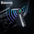 Baseus Qiyin WXQY Wireless Bluetooth 5.0 3.5mm Jack Aux Araç Ses Aktarım Kiti Adeptör