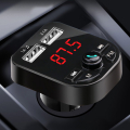 Ally Araç Fm Transmitter Bluetooth 5.0 Usb Mp3 Sd Kart Çakmaklık