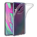 Ally Sm Galaxy A40 Ultra Koruma Soft Şeffaf Silikon Kılıf