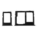 Samsung Galaxy J4 Plus-J6 Plus Sim Hafıza Kart Kapağı Tutucu Çiftsim