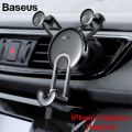 Baseus YY vehicle-İPhone Lightning Kablolu Araç İçi Telefon Tutucu(SULYY)