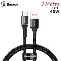 Baseus halo USB Type-C 40W Flash Şarj 1Metre USB Şarj Kablosu