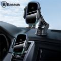 Baseus Light Electric Wireless Kablosuz 15W Hızlı Şarj Araç Tutucu