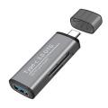 ADS-103 USB TYPE C 3.0 Hızlı Card Reader SD-TF Hafıza Kart Okuyucu