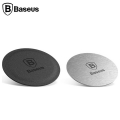 Baseus İron Suit Magnetic Telefon Tutucu Plaka 2 Adet(1 Deri 1 Metal)