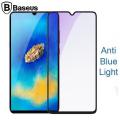 Baseus Huawei Mate 20 3D Anti Blue Light Kırılmaz Cam Ekran Koruyucu