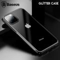 Baseus Glitter Case İPhone 11 Pro  Max 6.5 2019 Şeffaf Lüx Silikon Kılıf