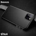 Baseus Wing Case İPhone 11 Pro Max 6.5 2019 Ultra İnce Lux Mat Şeffaf Kılıf