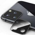 İPhone 11 Pro- 11 Pro Max 2019 3D Kamera Koruyucu Cam+ Metal Lens