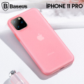 Baseus Jelly Liquid Silica Gel iPhone 11 Pro 5.8inch(2019)Şeffaf Sıvı Silikon Kılıf