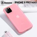 Baseus Jelly Liquid Silica Gel iPhone 11 Pro Max 6.5 Kılıf Şeffaf Sıvı Silikon Kılıf