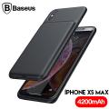 Baseus Liquid İPhone XS Max 6.5 4200mAh Bataryalı Kılıf Power Bank