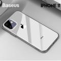 Baseus Simplicity Series iPhone 11 6.1inch(2019) Şeffaf Gel Silikon Kılıf