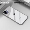 Baseus Simplicity Series iPhone 11 Pro Max 6.5 Kılıf Şeffaf Gel Silikon Kılıf