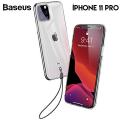 Baseus Transparent Key İPhone 11Pro 5.8inch(2019) Şeffaf Silikon Kılıf