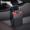 Baseus Magic Car Storage Rack Mıkantıslı Deri Araç Tutucu-Çanta