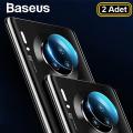 Baseus Huawei Mate30-Mate30 Pro Kamera Koruyucu Kırılmaz Cam  2adet set