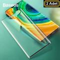 Baseus Huawei Mate 30 Pro 0.15mm Full Kaplayan Ekran Koruyucu 2 Adet Set