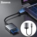 Baseus Enjoy Serisi Type-C to SD TF Çevirici Kart Okuyucu
