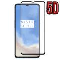 OnePlus 7T 5D Full Kaplama Tempered Kırılmaz Cam Ekran Koruyucu