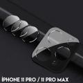 İPhone 11 Pro- 11 Pro Max  Kamera Koruma Metal Lens+ Kırılmaz Cam Set