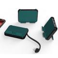 Ally C05 Çok fonksiyonlu İPhone OTG Adaptör Çoklayıcı&Stand
