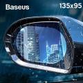 Baseus 135X95 Anti Sis Yağmur Geçirmez Hidrofobik dikiz aynası Film 2 adet