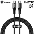 Baseus halo data cable hızlı Şarj Usb Type-C PD2.0 60W (20V 3A) 1metre