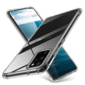 Ally Samsung Galaxy A71 Anti-Drop Darbe Emici Silikon Kılıf Shockproof kılıf