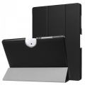 Acer İconia One 10 B3-A40 10.1 Gizli Mıknatıslı Standlı Ultra İnce Deri Kılıf