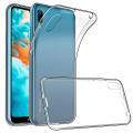 Huawei Y6 Pro 2019 Kamera Korumalı Fit Şeffaf Silikon Kılıf