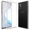 Ally Samsung Galaxy Note 10+ Plus  Ultra Slim Fit Şeffaf Silikon Kılıf