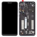 Xiaomi Mi 8 Lite Lcd Ekran Dokunmatik touch Çıtalı Full