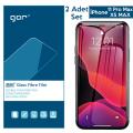 GOR İPhone 11 Pro Max XS MAX 6.5 Flexible Nano Glass Ekran Koruyucu 2 adet Set