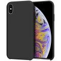 iPhone X- XS 5.8 inch Liquid Silicone Lansman Soft Silikon Kılıf