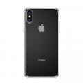 Baseus İphone Xs Max 6.5 Kılıf Simple Şeffaf Gel Darbe Emici Silikon Kılıf