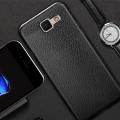 Ally Galaxy J7 Max Deri Dokulu Premium Fit Soft Silikon Kılıf