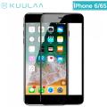 KUULAA İPhone 6- 6S 3D Full Tempered Kırılmaz Cam Ekran Koruyucu