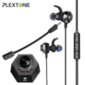 PLEXTONE G50 3.5mm DSP Ses gürültü önleyici Oyuncu kulaklığı Çift mikrofonlu