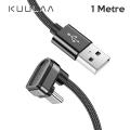 KUULAA U-shape Mobile Game USB Type C Oyuncu Şarj Kablosu 1Metre